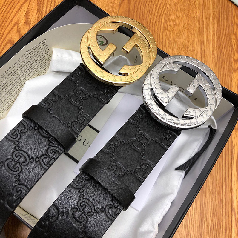 GUCCI MENS BELT GENUINE LEATHER ORIGINAL QUALITY