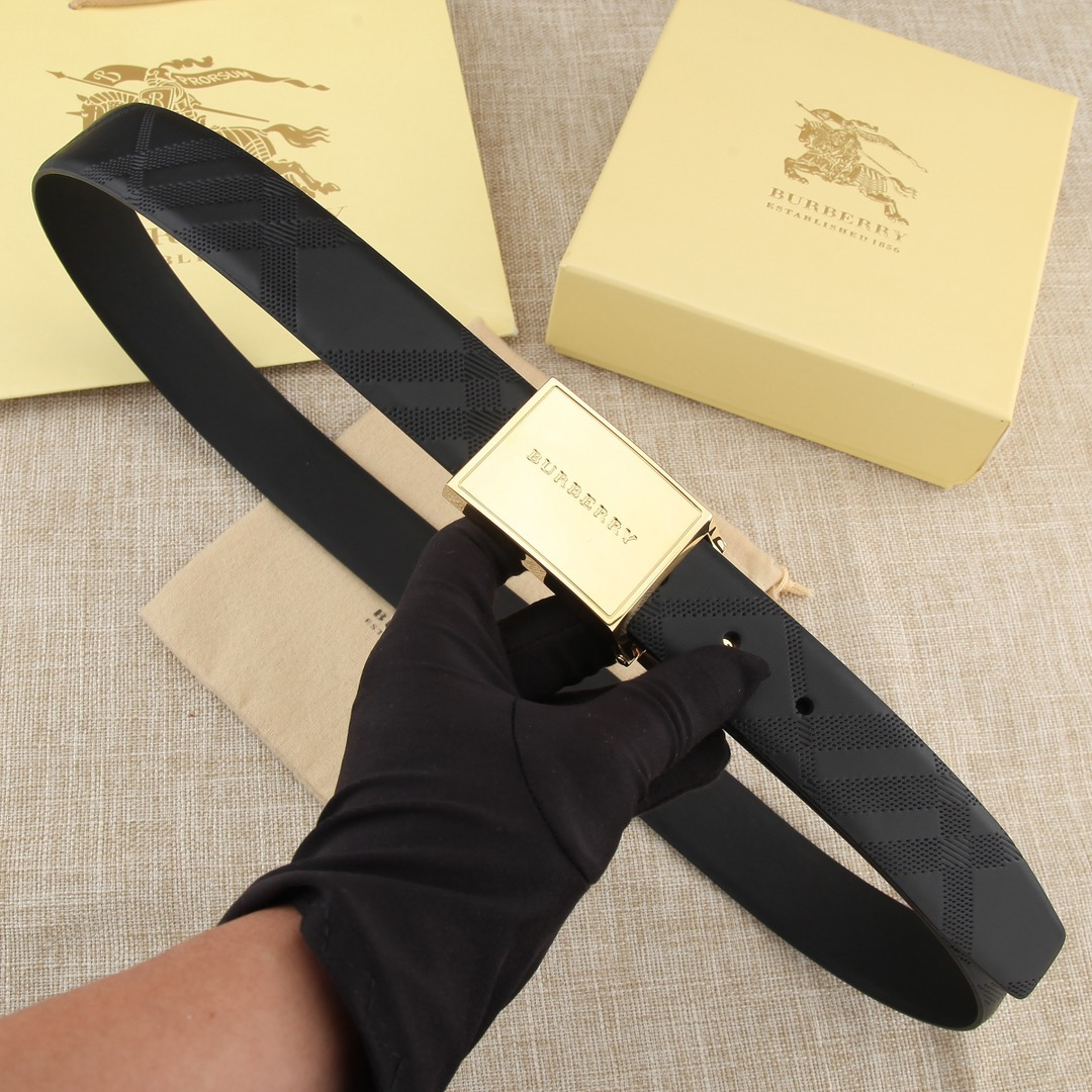 burberry MENS BELT GENUINE LEATHER ORIGINAL QUALITY
