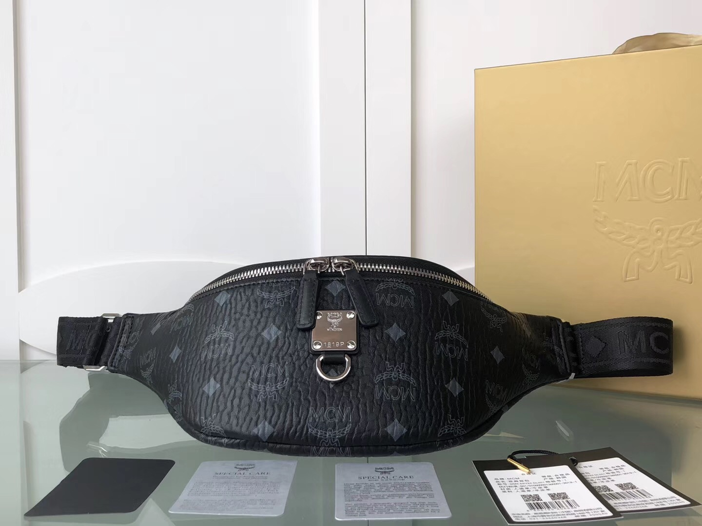 MCM Fursten BELT BAG CHEST SLING BAG 36*20*12CM