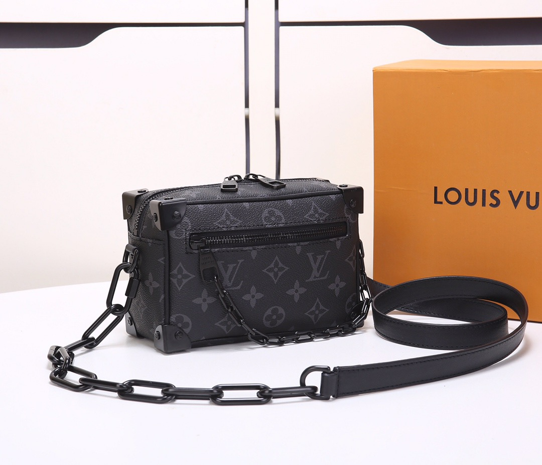 LV Virgil Abloh  Mini Soft Trunk M30351 18.5x13x8CM M44480