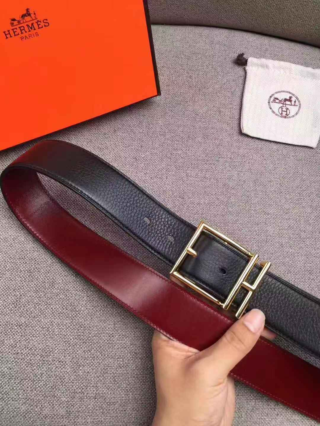 MENS REAL GENUINE LEATHER BELT