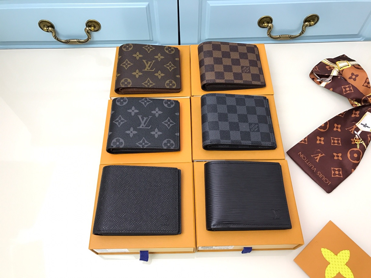 LV WALLETS MENS WOMENS