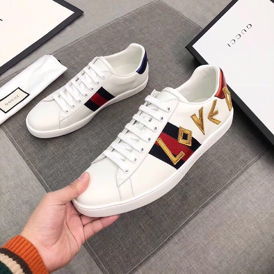 GUCCI MENS WOMENS SHOES SPORTS TRAINERS EUROPE SIZE 34-46