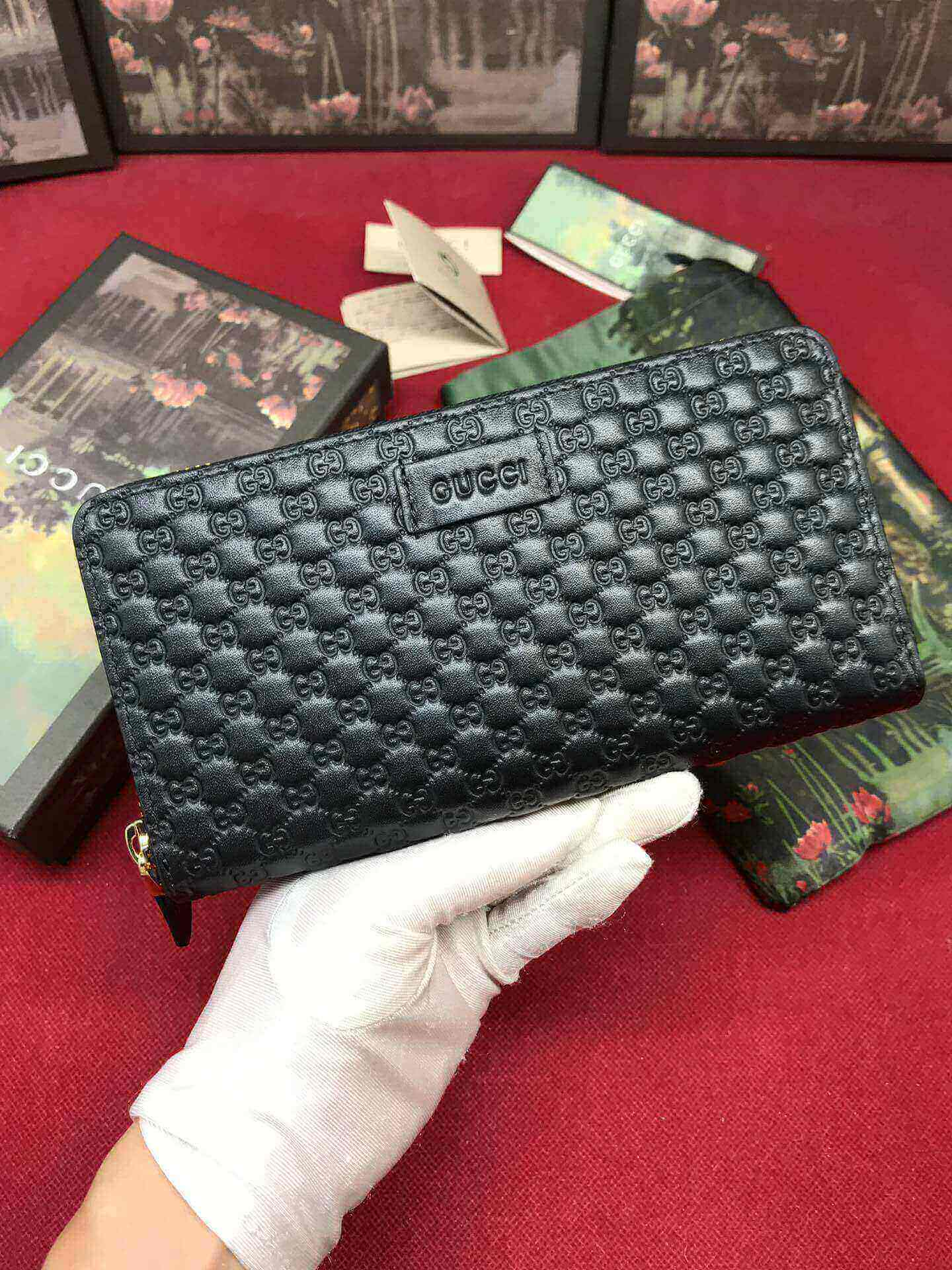GUCCI LONG ZIPPY WALLET 449391 19.9.3