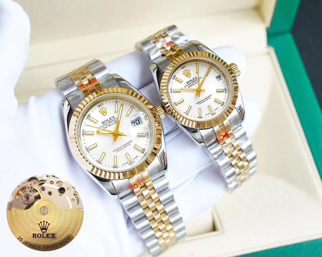 ROLEX MENS WOMENS AUTOMATIC WATCH 36MM 28MM