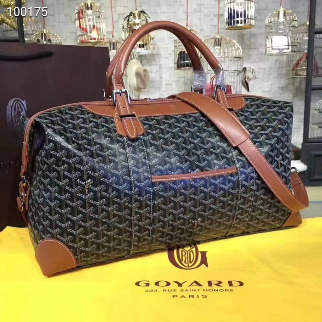 goyard travel bag duffle