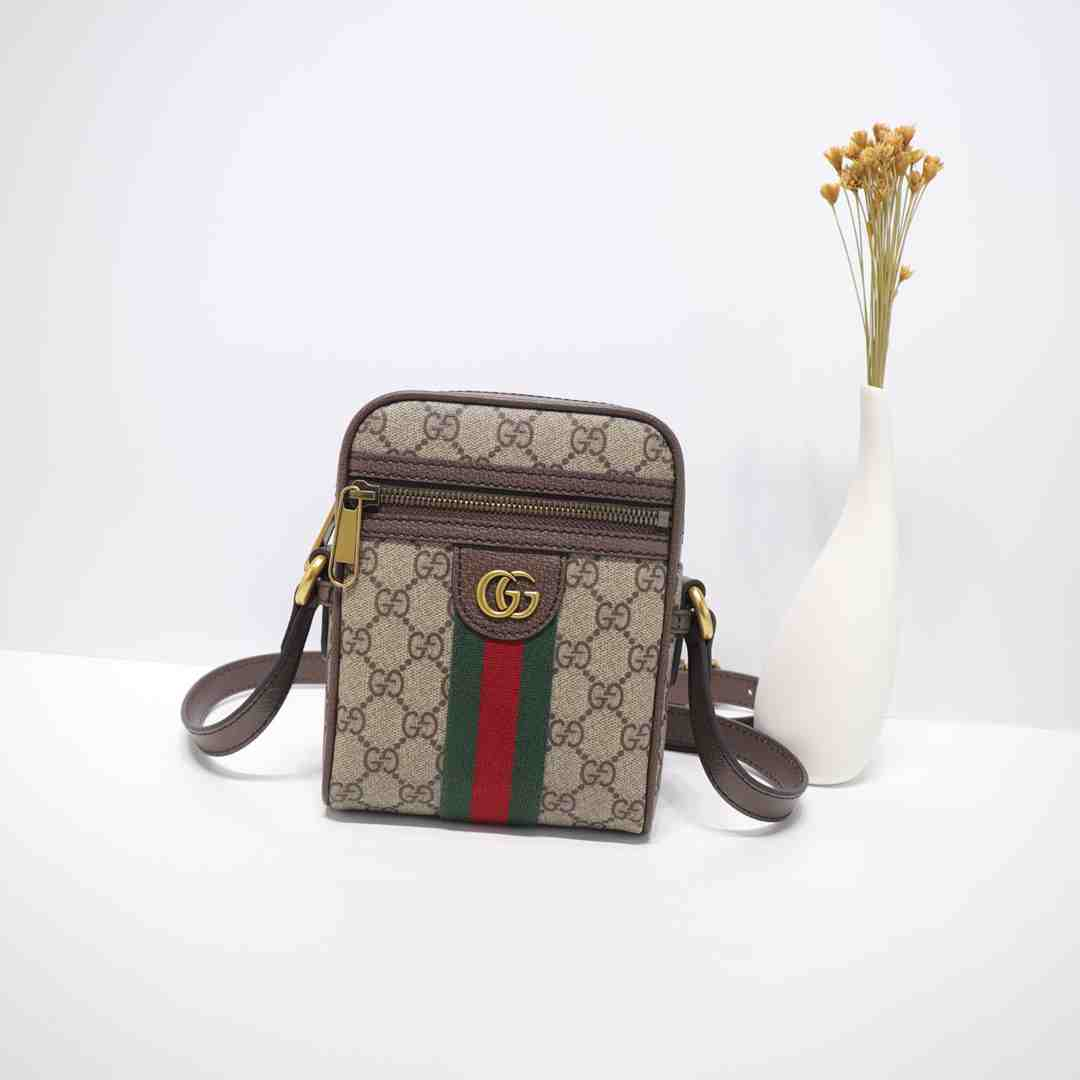 GUCCI small MINI BAG  598103 14.5X18X6CM